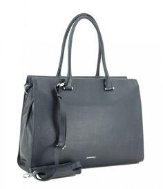 Henkeltasche GiGi Fratelli Navy Leder Bags, Fashion, Navy Blue, Laptop Tote, Leather Cord, Hook And Loop Fastener, Dark Blue, Handbags, Moda