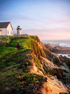 Point Montara Lighthouse, Mile 500 - Pacific Coast Highway, CA