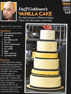 Frosting Recipes, Cupcake Recipes, Baking Recipes, Dessert Recipes, Frosting Tips, Just Desserts, Delicious Desserts, Vanilla Desserts, Charm City Cakes