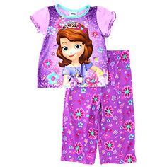 Sofia the First Toddler Purple Poly Pajamas Disney… d11dac6a8