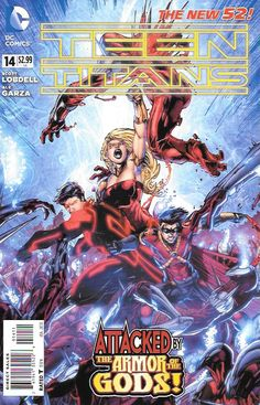 The Origin Of Wonder Girl Part 2 _Written By Scott Lobdell & Fabian Nicieza…