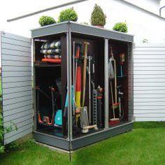 Flexibler Gerateschrank Garten Q Teras Garten Q Gmbh Balkon Homify Gartenschrank Kleiner Stadtgarten Holzhutte Garten