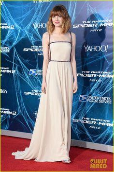 Emma Stone & Felicity Jones Bring Girl Power to 'Amazing Spider-Man 2' Premiere! | Emma Stone, Felicity Jones, Spider Man Photos | Just Jared