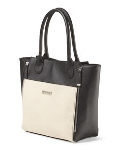 Queen B Two Tone Tote