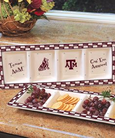 Take a look at this Texas A&M Game Day Relish Tray by The Memory Company on #zulily today!
