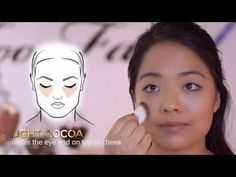 Contouring and Highlighting with Too Faced Cocoa Contour Kit - YouTube