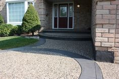 images of front yard stamp concrete - Google Search