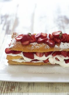 Strawberry Millefeuille | 8 Homemade Edible Gifts for Mother's Day