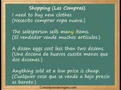 """Las Compras"" ,frases relacionadas! 