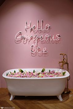 Home Decoration For Wedding Info: 4974600301 Stylenanda Pink Hotel, Pink Cafe, Showroom, Concept Shop, Neon Aesthetic, Pink Room, Neon Room, Bridal Stores, Cafe Interior