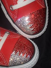 StarSparkles, fabulous customised shoes as worn by the stars | Custom Custom Converse
