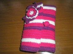 Porta agulhas de crochê passo a passo – Para a confecção de trabalhos em tricô, crochê ou outras téc