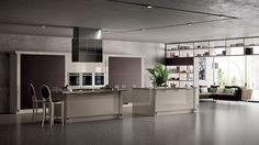 Alluring Italian Kitchen Cabinet And Storage Shelves Design Id505 - Modern Italian Style Kitchen Designs - Kitchen Designs - Interior Design