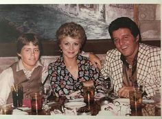 The Spilotro family having dinner. 1980.