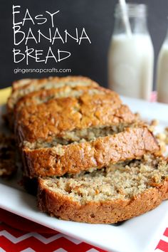 Click the link to find out how to make this delicious, filling & best banana bread recipe from scratch! This recipe has been in my family for years! Easy to make banana nut bread recipe. Easy Bread Recipes, Banana Bread Recipes, Frozen Banana Recipes, Homemade Banana Bread, Banana Nut Bread Recipe Using Self Rising Flour, Easy Banana Bread Recipe Without Baking Soda, Banana Bread Recipe With Two Bananas, Easiest Banana Bread Recipe, Banana Bread With Cinnamon