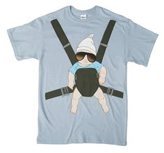 The Hangover Hanging Baby T-shirt