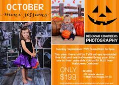 Image result for halloween mini session ideas