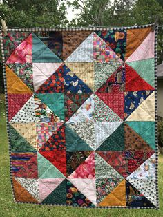 Little eye spy quilt. Use up the scraps. #mandyscountrymouse
