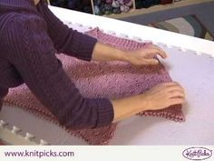 After you have invested a great deal of time into knitting a sweater, you want to give it a beautiful finish. This often involves blocking the sweater to the proper dimensions. When you block a sweater, you are setting the …