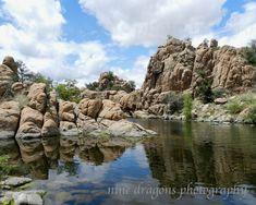 Watson Lake Photography Southwestern Art Print by ninedragons