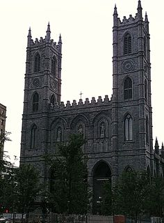 Notra Dame in Montreal