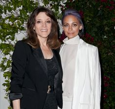 Pin for Later: You'll Never Guess Where Kim Kardashian Popped Up Last Night  Nicole met with Marianne Williamson at the press event.