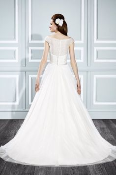 Wedding dress by Moonlight Tango