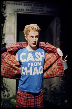 The legendary Malcolm McLaren