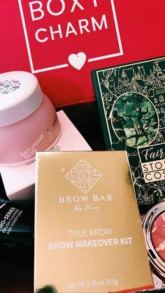 Beauty Box, Storybook Cosmetics, Brow Bar, Types Of Nails, Beauty Review, Layered Hair, Holiday Fashion, Hair Lengths, Brows