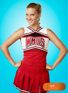 "Heather Morris es ""Brittany S. Pierce"".  Glee - Jueves 22.00  #GleeLA #SoyGleek  http://www.canalfox.com/glee"