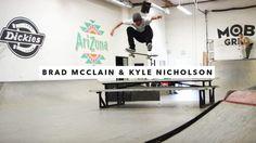 Brad McClain and Kyle Nicholson   TransWorld SKATEboarding – TransWorld SKATEboarding: Source: TransWorld SKATEboarding