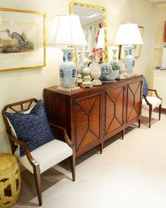 This month at The Kellogg Collection pick one item and enjoy 20% off of that item! It could be something small like a pillow or something large like this gorgeous console.