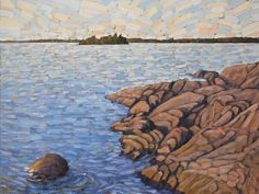Sunbaked John Visser (2013) oil on canvas 28in × 34in × 1in Current Bid: $1350.00 #Toronto #art