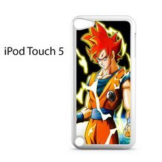 Dragon Ball Z Super Saiyan Goku Ipod Touch 5 Case