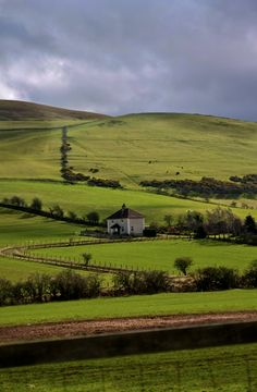 Farmhouse. North Northumberland, England