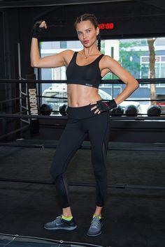 "Victoria's Secret Angel Adriana Lima Swears This Cardio Will ""Tone Your Body"""