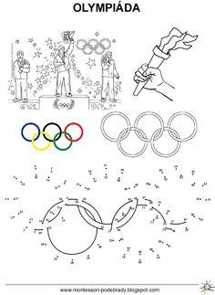 Tři následující dny bude v naší školce probíhat olympiáda. Budeme nejen soutěžit v různých disciplínách, ale povíme si něco o historii o... Sports Activities For Kids, Kids Sports, Olympic Crafts, Olympic Games, Physical Education Lessons, Kids Education, Tokyo Olympics, Summer Olympics, Colouring Pages