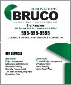 Contractor Business