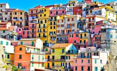 The Worlds 25 Most Colorful Cities Cinq terre, Italie