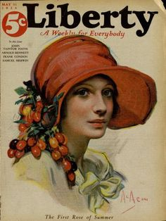 Cover Illustration: Neysa McMein, 1924 http://www.philsp.com/data/images/l/liberty_19240531.jpg