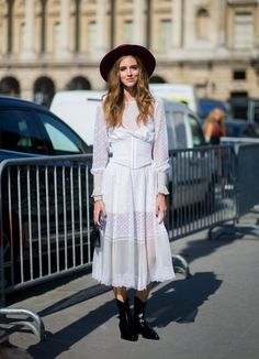 Pin for Later: The Best Street Style From All of Paris Fashion Week Paris Fashion Week, Day 5 Chiara Ferragni.