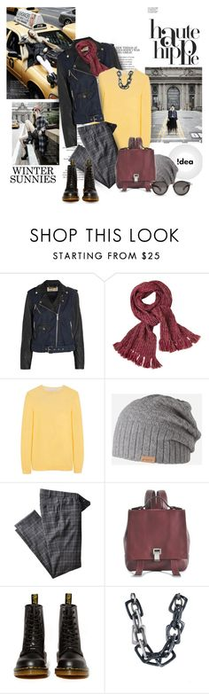 """""""!dea"""" by helleka ❤ liked on Polyvore featuring MICHAEL Michael Kors, Johanna Howard, Mulberry, Barts, Hiltl, Proenza Schouler, Dr. Martens, PONO and Moncler"""