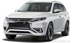 Кроссовер Внедорожник Mitsubishi Outlander 2016 / Мицубиси Аутландер