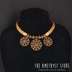 Looking for traditional temple jewellery sets to shop? Silver Jewellery Indian, Gold Jewellery Design, Temple Jewellery, Silver Jewelry, Silver Earrings, Silver Necklaces, Silver Ring, Jewellery Sale, Latest Jewellery
