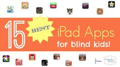 Best apps for blind kids