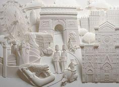 #paper art sculpture