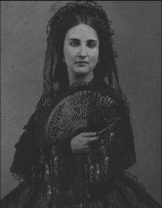 La emperatriz Carlotta de México.
