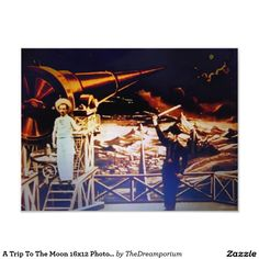 A Trip To The Moon 16x12 Photo Print