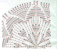 Centrinhos de Mesa em Crochê com Gráficos - CROCHÊ ON LINE