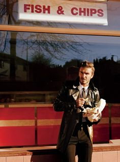 Fish and chips and David Beckham